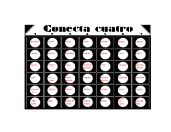 Travel Vocabulary Connect 4