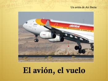 Travel Vocabulary Powerpoint for Spanish