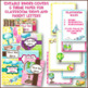 Travel Watercolor Classroom Decor Editable Binder Covers & Calendar