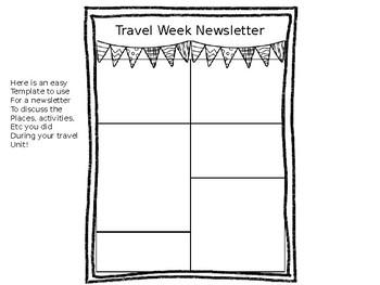Travel Week!