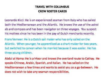 Travel With Columbus