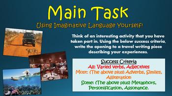Travel Writing: Constructing Imaginative Language