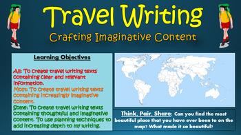 Travel Writing: Crafting Imaginative Content