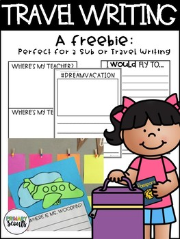 Travel Writing - Freebie, K-2