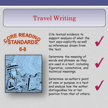 'Travel Writing' - Key Point, Quote and Comment