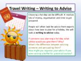 Travel Writing Leaflets