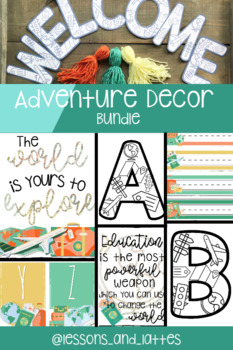 Travel and Adventure Themed Classroom Decor