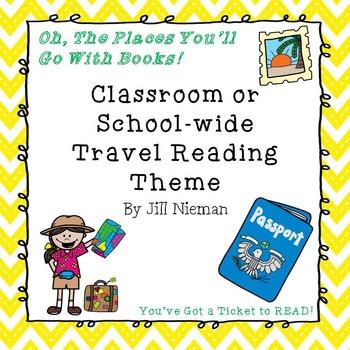 Travel Themed Classroom Decor- Editable