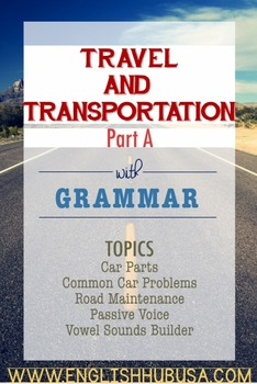 Travel & Transportation (Unit A Packet): Car Parts & Maint