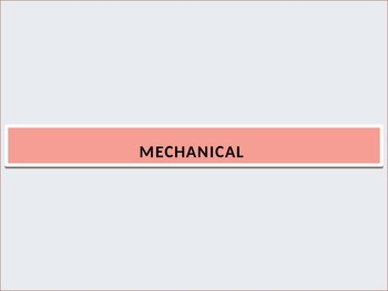 Travel and Transportation A: Mechanical car parts (PowerPoint Review)