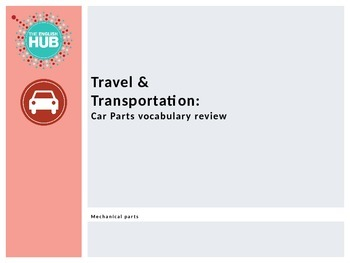 Travel and Transportation (A): Mechanical car parts Slideshow