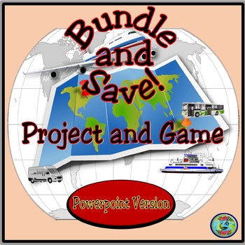 Travel and Transportation Activity Bundle