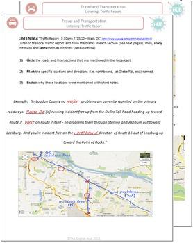 Travel & Transportation (C): Traffic Report Listening Activity