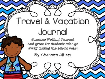 Travel and Vacation Journal {for the little ones!}