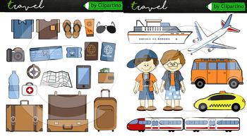 Vacation Clip Art Bundle