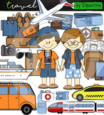 Around the World: Travel Clipart