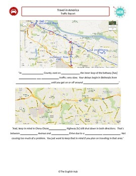 Travel in America - Traffic report