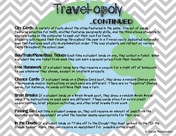 Travel-opoly: Homework Management Game