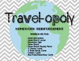 Travel-opoly: Homework Management Game