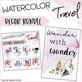 Travel Classroom Decor Bundle