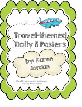 Travel-themed Reading Posters
