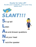 Travel themed SLANT poster