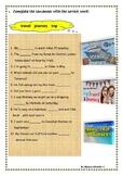 Travel words:  (travel, tour, trip, journey)
