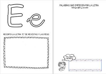 Traveler book of letters in SPANISH / Libro viajero de las letras ESPAÑOL