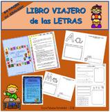 Traveler book of letters in SPANISH / Libro viajero de las