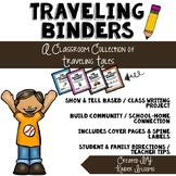Traveling Binders {Show & Tell / Class Writing Project}