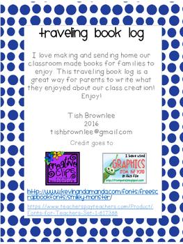 Traveling Book Log