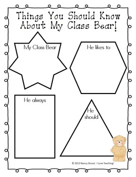 Traveling Class Bear: A Global Project for K-3rd