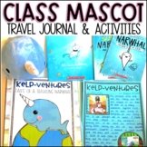 Traveling Class Mascot with Traveling Journal