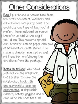 Traveling Scientist Kit {Fun for the Whole Family}