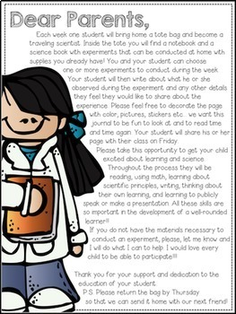 Traveling Scientist Kit {Science Experiments at Home}