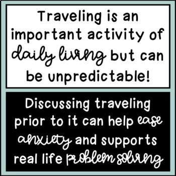 Traveling Social Stories: A Bundle!!