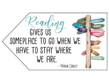 Traveling and Reading Themed Posters Classroom Decor
