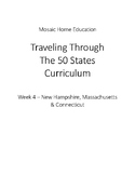 Traveling Through The 50 States Week 4 Worksheet Packet