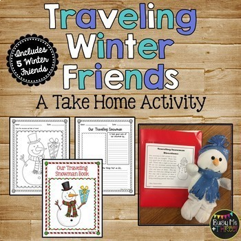 Traveling Winter Friends {A Take Home Activity}