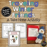 Winter Activity - Traveling Winter Friends {A Fun Take Home Activity}