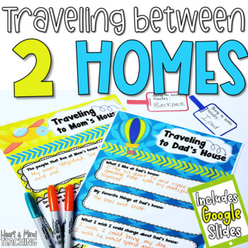 Traveling between Homes; Coping with Divorce, living in 2 houses, SEL