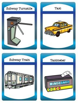 Traveling by Subway or Taxi