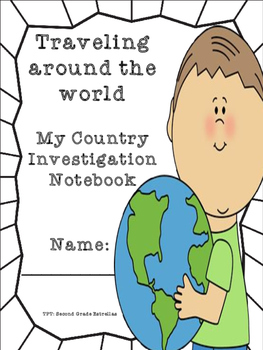 Traveling the world -My favorite country investigation notebook