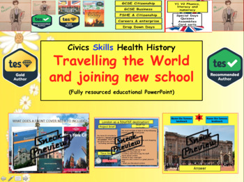 Travelling the world & Joining a new school