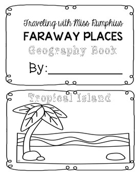 Travels with Miss Rumphius Faraway Places  - Geography Booklet