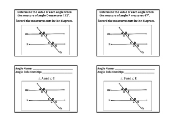 Traversal & Parallel Lines Introduction