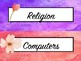 Tray Labels Watercolour - Two Designs Included