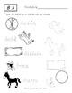 Traza la Palabra y Únela: Ejercicios para Practicar la Letra D´nealian