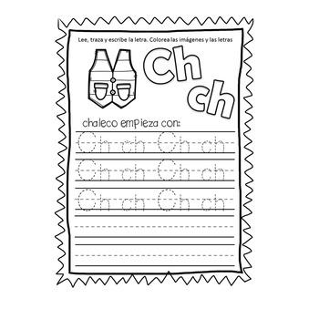 Alfabeto -traza las letras