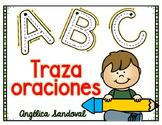 Traza oraciones  Trace sentences